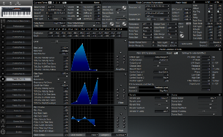 Click to display the Roland XP-30 Patch (Part 11) Editor