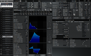 Click to display the Roland XP-30 Patch (Part 13) Editor