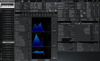 Click to display the Roland XP-30 Patch (Part 14) Editor