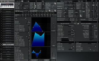 Click to display the Roland XP-30 Patch (Part 15) Editor