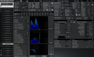 Click to display the Roland XP-30 Patch (Part 16) Editor