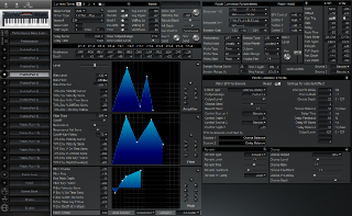 Click to display the Roland XP-30 Patch (Part 4) Editor