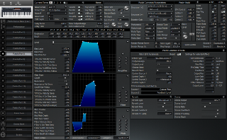 Click to display the Roland XP-30 Patch (Part 5) Editor