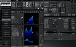Click to display the Roland XP-30 Patch (Part 6) Editor
