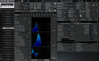 Click to display the Roland XP-30 Patch (Part 7) Editor