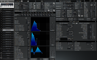 Click to display the Roland XP-30 Patch (Part 8) Editor
