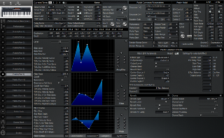 Click to display the Roland XP-30 Patch (Part 9) Editor