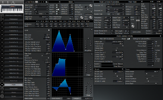 Click to display the Roland XP-30 Patch Editor