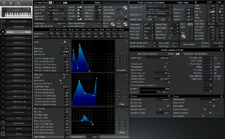 Click to display the Roland XP-50 Patch (Part 1) Editor
