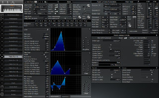 Click to display the Roland XP-50 Patch (Part 11) Editor