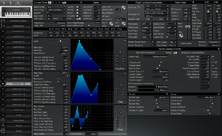 Click to display the Roland XP-50 Patch (Part 12) Editor