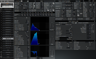 Click to display the Roland XP-50 Patch (Part 13) Editor