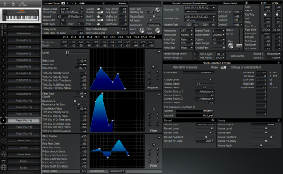 Click to display the Roland XP-50 Patch (Part 14) Editor