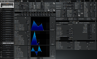 Click to display the Roland XP-50 Patch (Part 15) Editor