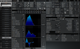 Click to display the Roland XP-50 Patch (Part 16) Editor