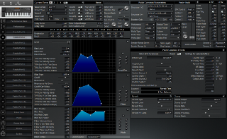 Click to display the Roland XP-50 Patch (Part 2) Editor