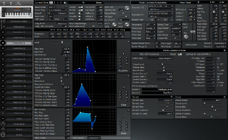 Click to display the Roland XP-50 Patch (Part 3) Editor