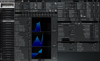 Click to display the Roland XP-50 Patch (Part 4) Editor