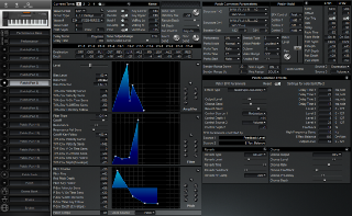 Click to display the Roland XP-50 Patch (Part 5) Editor