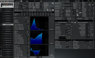 Click to display the Roland XP-50 Patch (Part 6) Editor