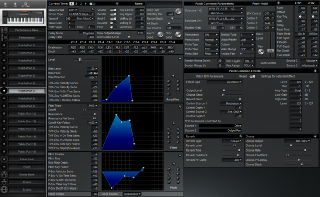 Click to display the Roland XP-50 Patch (Part 7) Editor