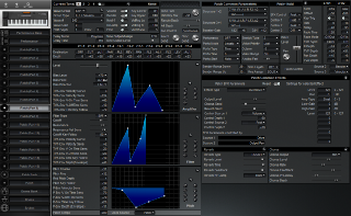 Click to display the Roland XP-50 Patch (Part 8) Editor