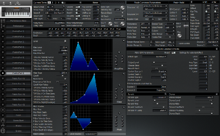 Click to display the Roland XP-50 Patch (Part 9) Editor