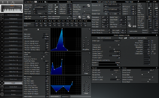 Click to display the Roland XP-50 Patch Editor