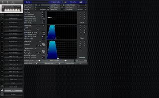 Click to display the Roland XP-60 Drums Editor