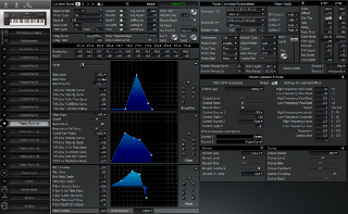 Click to display the Roland XP-60 Patch (Part 11) Editor