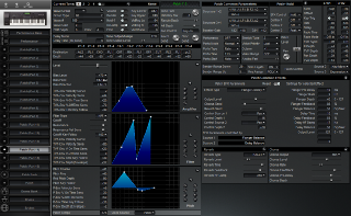 Click to display the Roland XP-60 Patch (Part 14) Editor