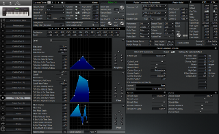 Click to display the Roland XP-60 Patch (Part 15) Editor