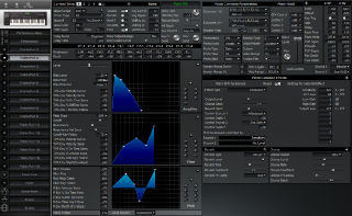 Click to display the Roland XP-60 Patch (Part 2) Editor