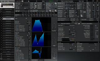 Click to display the Roland XP-60 Patch (Part 3) Editor
