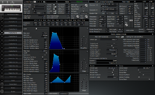 Click to display the Roland XP-60 Patch (Part 4) Editor