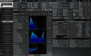 Click to display the Roland XP-60 Patch (Part 5) Editor