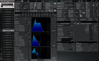 Click to display the Roland XP-60 Patch (Part 8) Editor