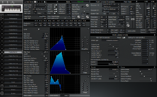 Click to display the Roland XP-60 Patch (Part 9) Editor