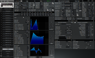 Click to display the Roland XP-60 Patch Editor