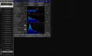 Click to display the Roland XP-80 Drums Editor