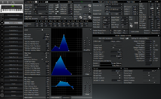 Click to display the Roland XP-80 Patch (Part 1) Editor