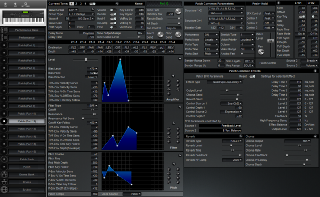 Click to display the Roland XP-80 Patch (Part 12) Editor