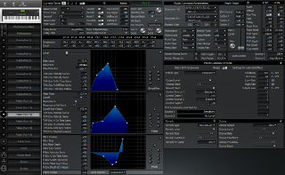 Click to display the Roland XP-80 Patch (Part 13) Editor