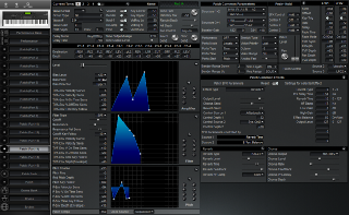 Click to display the Roland XP-80 Patch (Part 14) Editor