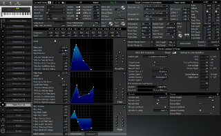 Click to display the Roland XP-80 Patch (Part 16) Editor