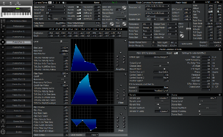 Click to display the Roland XP-80 Patch (Part 3) Editor