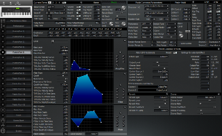 Click to display the Roland XP-80 Patch (Part 5) Editor