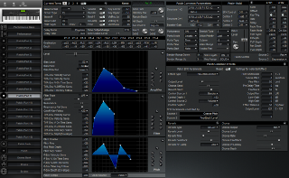 Click to display the Roland XP-80 Patch (Part 9) Editor