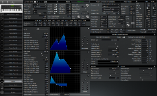 Click to display the Roland XP-80 Patch Editor