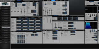 Click to display the Roland XV-2020 Pfm Patch 11 Editor